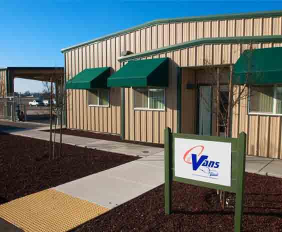 CalVans office building