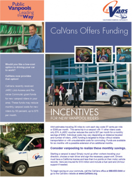 CalVans Offers Funding